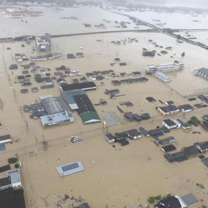 毎年繰り返す豪雨災害!