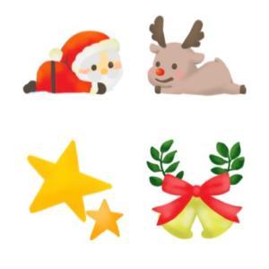 LINE絵文字〜クリスマスる リリースしました*