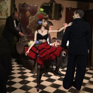 Tango Argentino Girl's End in Buenos Aires Sur Ⅰ