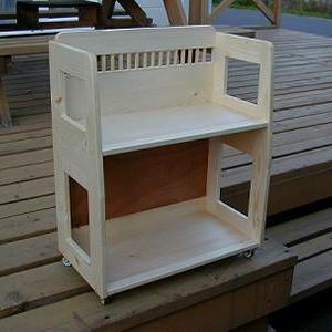 子供に小さな本棚を作った時の話