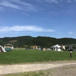 2019年とてもお世話になったキャンプ場。豊浦海浜公園キャンプ場