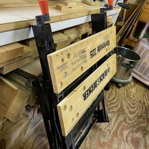 DIYの作業台を考える。作業を簡単にするのはWorkmate225!