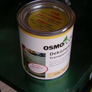 ナチュラルにしたいときは木工用塗料はオスモクリアーがおすすめ!