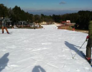 スキーのテスト