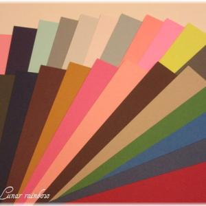 マーメイド紙の色見本