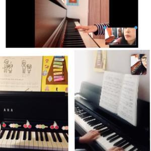 ピアノは継続してこそ! オンラインレッスンも武器の1つです。
