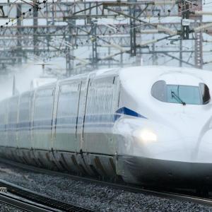 東海道新幹線N700Sを米原にて撮影