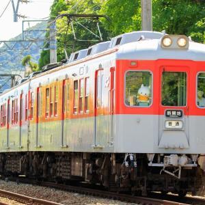 2020年7月17日の撮影記録 神戸電鉄リバイバル塗装 1357Fを撮影