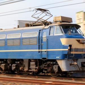 EF66-27牽引 1081レを撮影