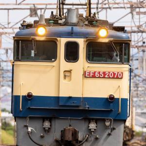 EF65-2070牽引 5087レを撮影