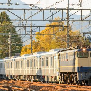 平成最後の?東京メトロ13000系甲種輸送を撮影