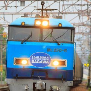 G20サミット開催に伴う時変となったSRCを大津駅にて撮影