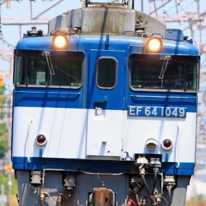 6月22日の撮影記録 EF64広島更新色牽引8865レを撮影