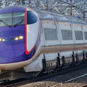 那須塩原駅にて東北新幹線を撮影