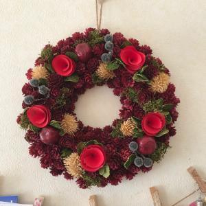 ニトリのクリスマスリース