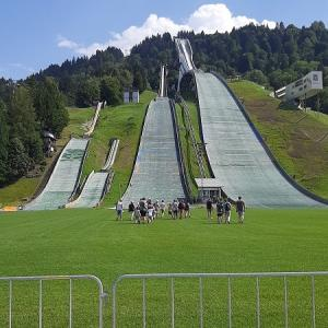 ガルミッシュ・パルテンキルヒェン スキージャンプ台