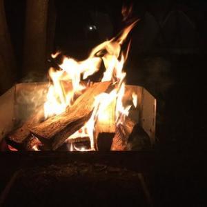 焚き火^ ^