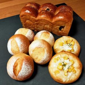 今日はパンを焼きました🍞