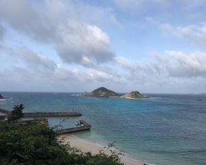 ハナリ島遠泳延期に
