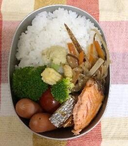 *焼き鮭弁*