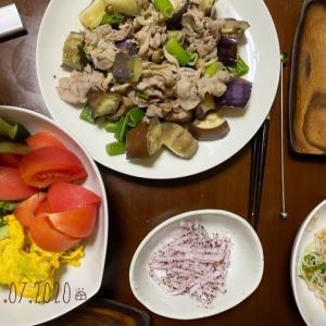 *夜ご飯と麻婆豆腐丼弁*