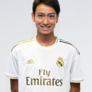 ◆朗報◆「ピピ」こと15歳中井卓大がレアル・マドリーとプロ契約へ