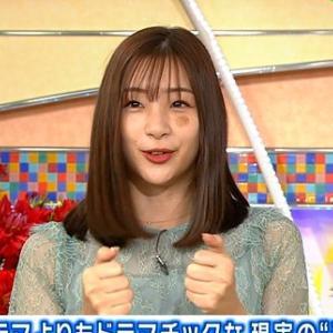 ◆悲報◆「私が死ねば」の足立梨花さん、土曜スタジオパークに顔に痣を2箇所つけて出演