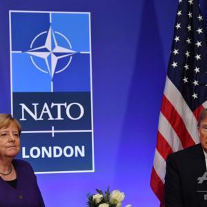 ◆悲報◆メルケル独首相、ワシントンでのG7出席辞退