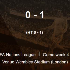 ◆UNL◆2組4節 イングランド×デンマーク デンマークPKの1点でウェンブリーで勝利!マグワイア足裏タックルで退場の愚行