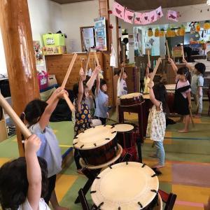 [和太鼓]動画 NICO保育園 和太鼓の授業☆和太鼓教室おんがくの森 熊本