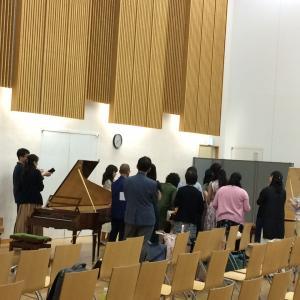行ってきたよ!フォルテピアノ・アカデミーSACLA(1)