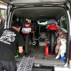 Ducati Vento 350 スペイン娘 整備7 ハマヒロさんの助っ人で完成!