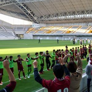 Jユースカップ準々決勝 サンフレッチェ広島F.Cユース戦~気落ちすることなく戦えたのは大きな成長