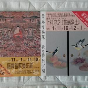 【お知らせ】當麻寺奥院(葛城市)で秋の特別公開開催