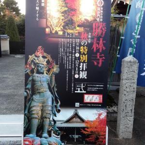 11月21日 勝林寺(京都市)でいただいた書き置き御朱印