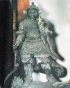 【2011 年7月の記事の再録】西大寺四王堂(奈良市)の多聞天像補作時期について