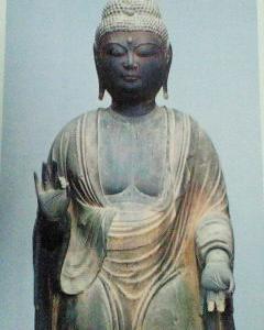 【2012年6月の記事】如意輪寺(奈良県吉野町)の伝阿弥陀如来立像について
