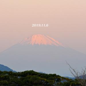 この日は‥‥ 『90km先の富士』
