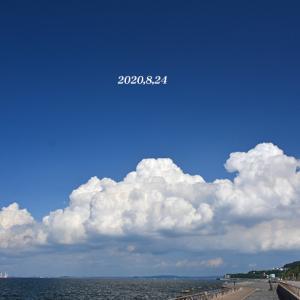 今度は この雲 『空の模様2020』