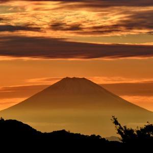 こうなりました。 『自宅から90km先の富士』