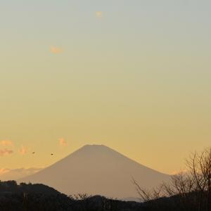 1月9日 ③『自宅から90km先の富士 2021』