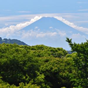 8月6日・10日 『自宅から90km先の富士2021』