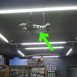 東京店内で飛んでます!お買い得!ダイキャスト製1/48C-47スカイトレイン