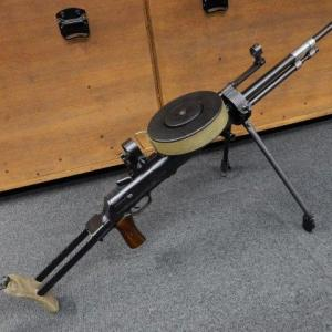 ロシアの両面が同居したDT車載機関銃 (大阪店ラスト1挺品)