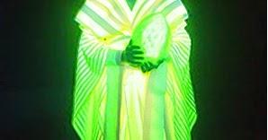 「ヒカリ展」 光るシルク