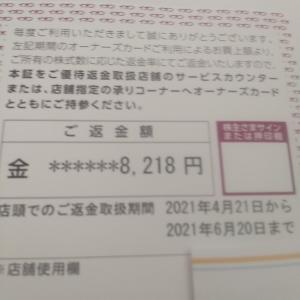 [2021株主優待]イオン