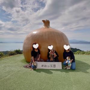 ワンコと秋の淡路島旅~うずの丘でたまねぎづくし