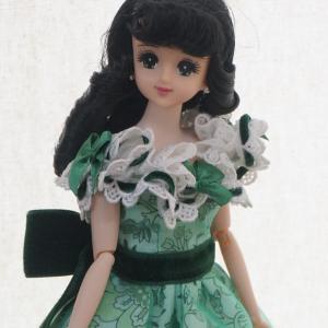 私なりの「風と共に去りぬ」ドレスと新しいお人形さん