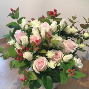 お誕生日のお祝いのお花