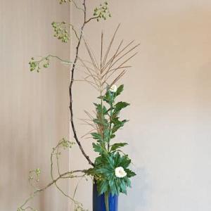 ノイバラの実の瓶花
